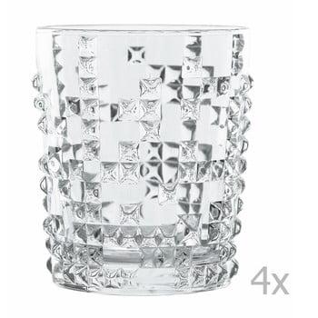 Set 4 pahare whisky din cristal Nachtmann Punk de la Nachtmann