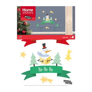 Elektrostatická samolepka Postershop Merry Christmas