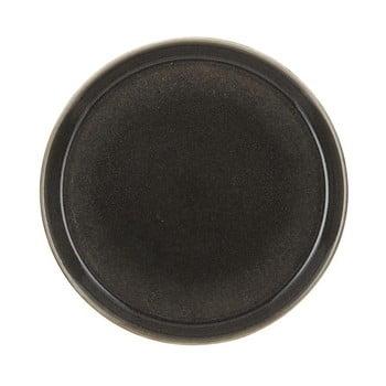 Farfurie adâncă din ceramică Bitz Mensa, diametru 27 cm, gri închis de la Bitz