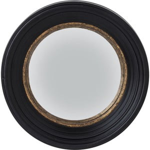 Zrcadlo Kare Design Convex Schwartz, Ø 52 cm