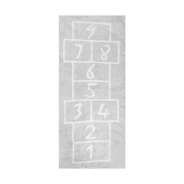 Koberec Pata Coja 200x90 cm, šedý