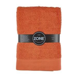 Oranžová osuška Zone 70x140 cm