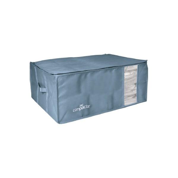 Niebieski pojemnik na ubrania Compactor XXL Blue Edition 3D Vacuum Bag, 210 l