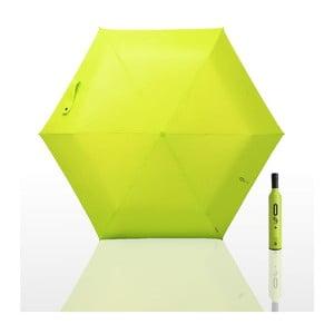 Skládací deštník 0 % plus, zelený