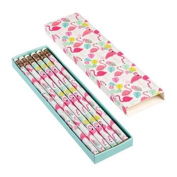 Set 5 creioane în cutie Rex London Flamingo Bay de la Rex London