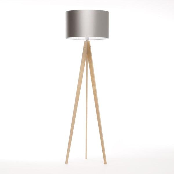 Stojací lampa Artista Birch/Silver, 125x42 cm