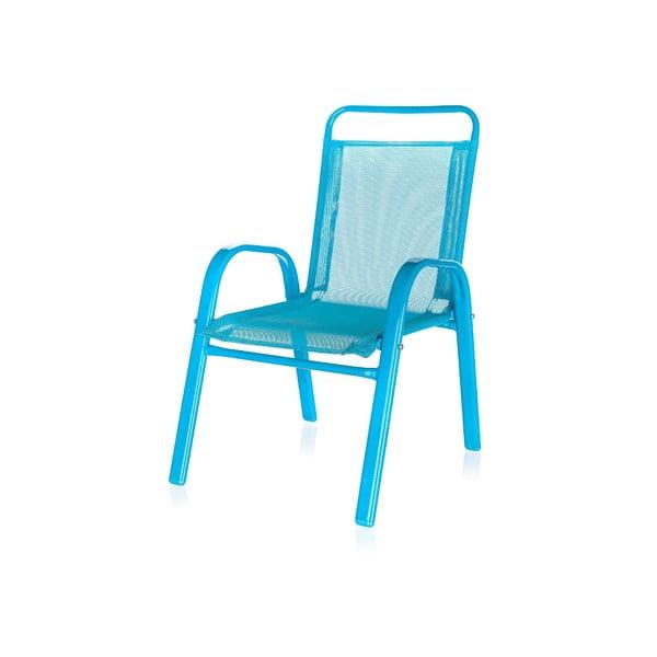 Dětská zahradní židle Kids, modrá