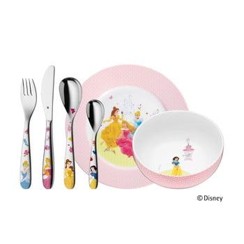 Set 6 tacâmuri din inox și veselă pentru copii WMF Princess, imagine