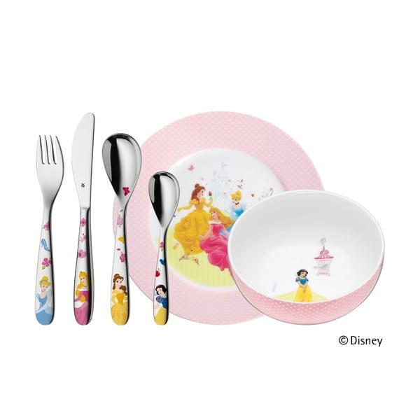 Princess 6 darabos rozsdamentes, gyerek evőeszköz- és étkészlet - WMF