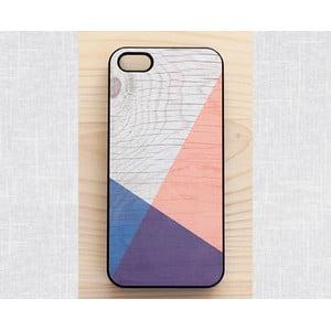 Obal na iPhone 4/4S, Geometric Wood/Black