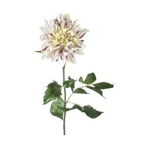 Umělá květina Dahlia White