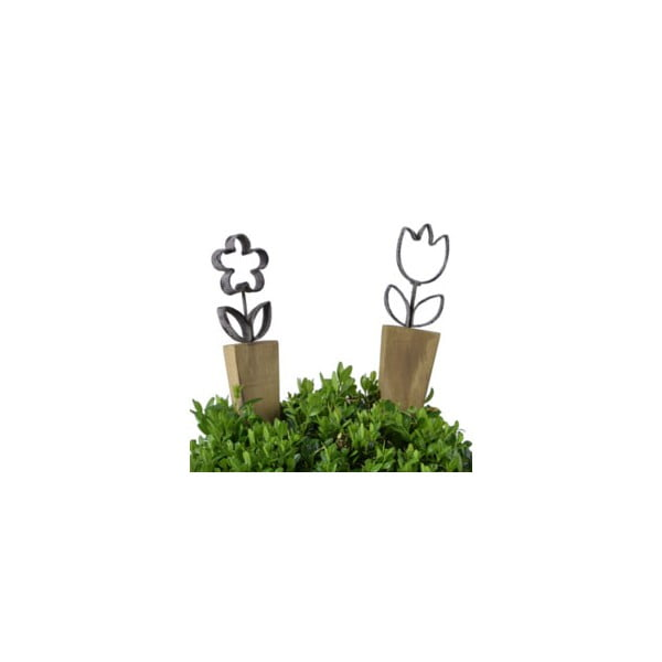 Sada 2 dekorácií do kvetináča Ego Dekor Salo M