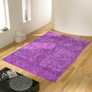 Fialový koberec Webtappeti Shaggy, 60x100cm