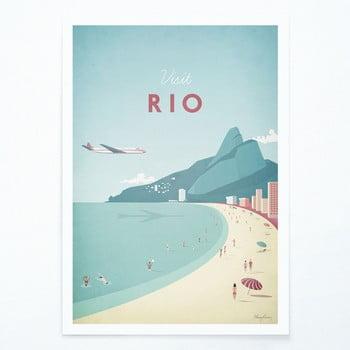 Poster Travelposter Rio, A3 imagine