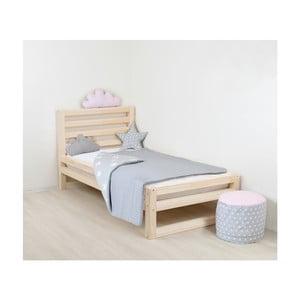 Dětská dřevěná jednolůžková postel Benlemi DeLuxe Nativa, 160x90cm