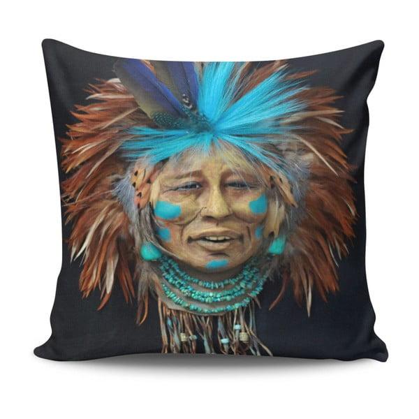 Pernă Indian, 45 x 45 cm, cu umplutură