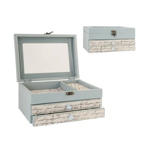 Krabička na šperky Blue
