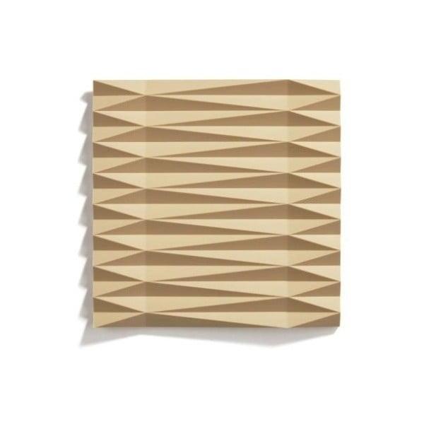 Origami Yato mustársárga szilikonos edényalátét, 16 x 16 cm - Zone