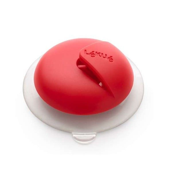 Řezačka potravinové fólie Lékué, červená