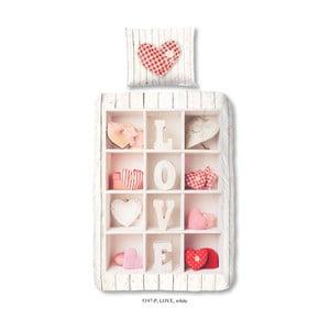 Lenjerie de pat din bumbac pentru copii Good Morning Romance, 140x200cm
