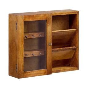 Skříňka ze dřeva mindi na klíče a dopisy Moycor Star