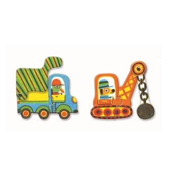"""Puzzle pentru copii Djeco """"Auto"""" imagine"""