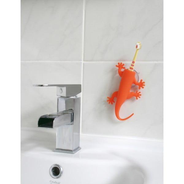 Oranžový držák na zubní kartáčky J-Me Larry