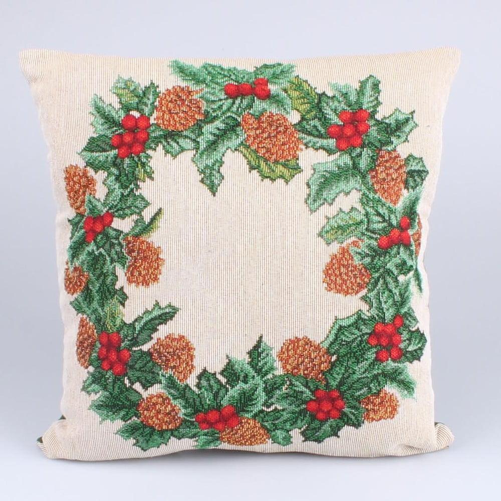 Povlak na polštář Dakls Vánoční Věnec