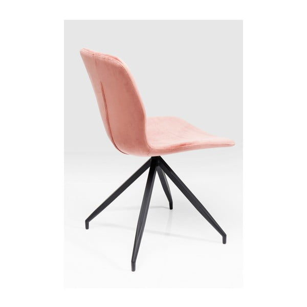 Sada 4 růžových jídelních židlí Kare Design Butterfly