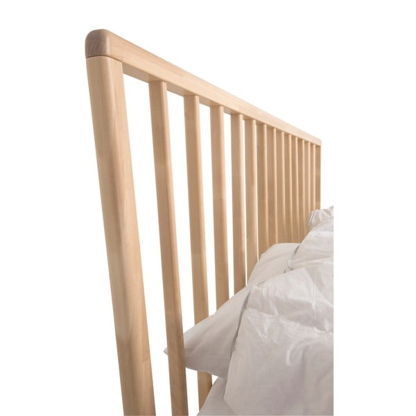Ručně vyráběná postel z masivního březového dřeva Kiteen Melodia, 160x200cm