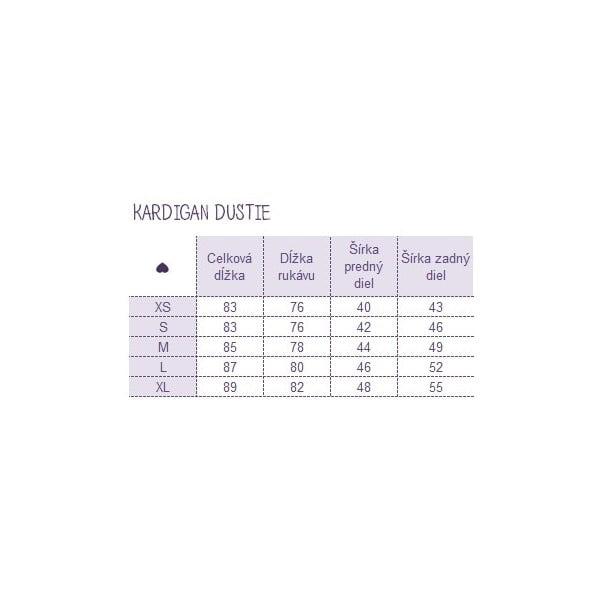 Kardigan Dustie, velikost L