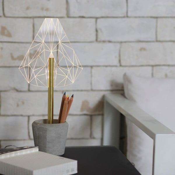 Náladové světlo s kalíškem na tužky Wired B