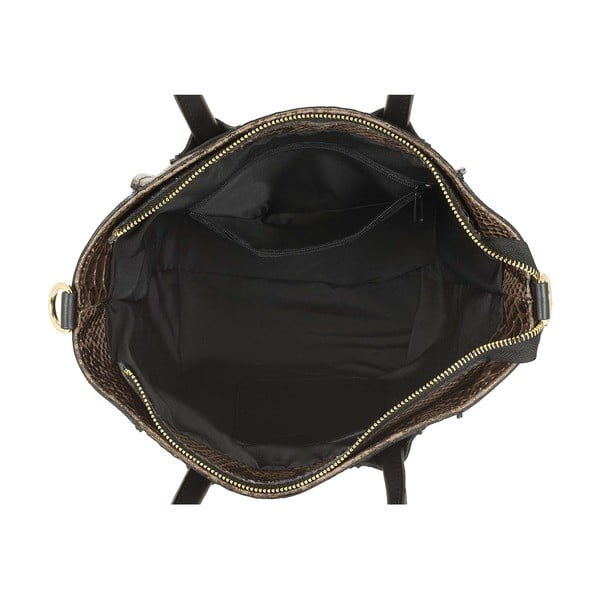 Kožená kabelka Kossie Moro