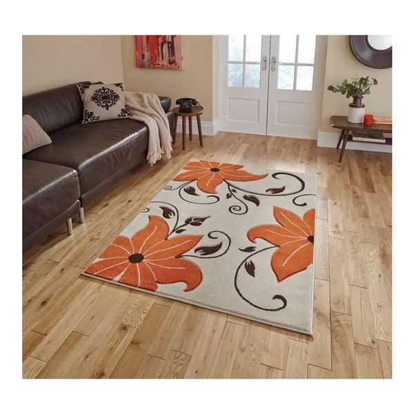 Covor Think Rugs Verona, 80x150cm, bej - portocaliu