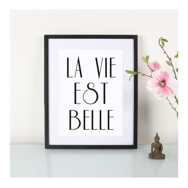Plakát La vie est belle, A3