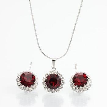 Set colier și cercei cu cristale Swarovski Laura Bruni Sila de la Laura Bruni