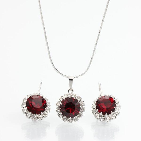 Set náhrdelníku a náušnic s krystaly Swarovski Elements Laura Bruni Sia