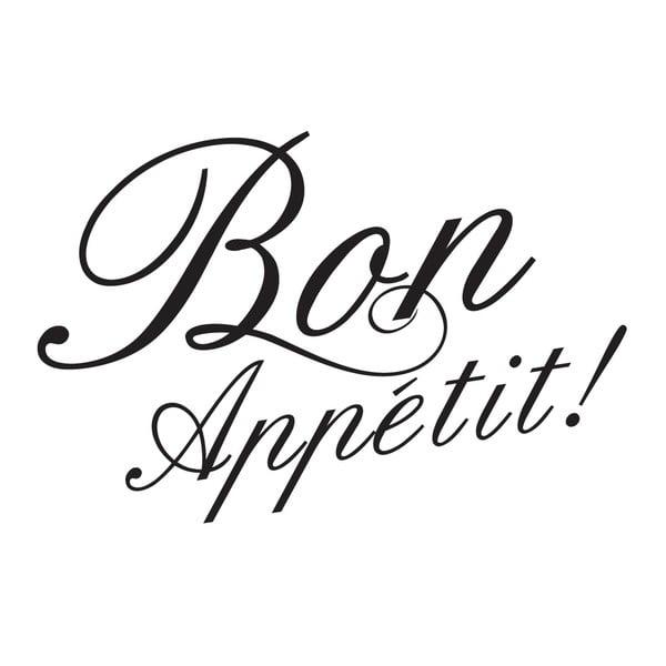 Samolepka MaDéco Bon Appetit!