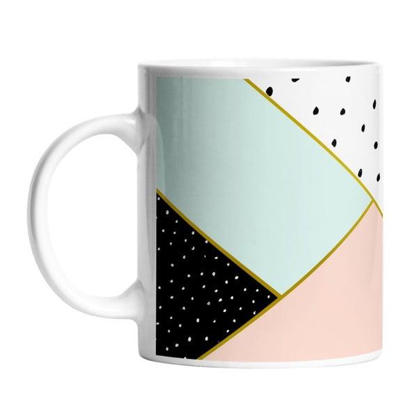 Keramický hrnek Geometric Composition, 330 ml