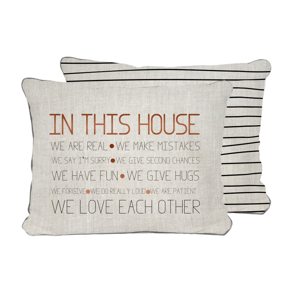 Oboustrann pol t really nice things house 45 x 45 cm - Really nice things ...