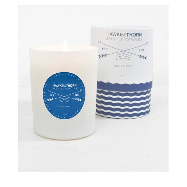 Vonná svíčka s vůní sladkého dubu Hawke&Thorn