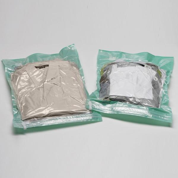 Vakuové obaly na oblečení Compactor Blue L, 2 ks