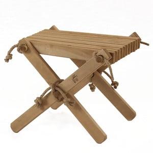 Stolička ze dřeva hnědé břízy EcoFurn Lili