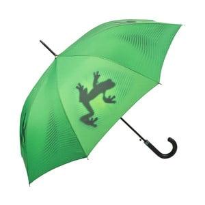 Zelený holový deštník Von Lilienfeld Shadowfrog
