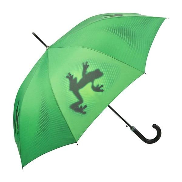 Zielony parasol Von Lilienfeld Shadowfrog, ø 100 cm