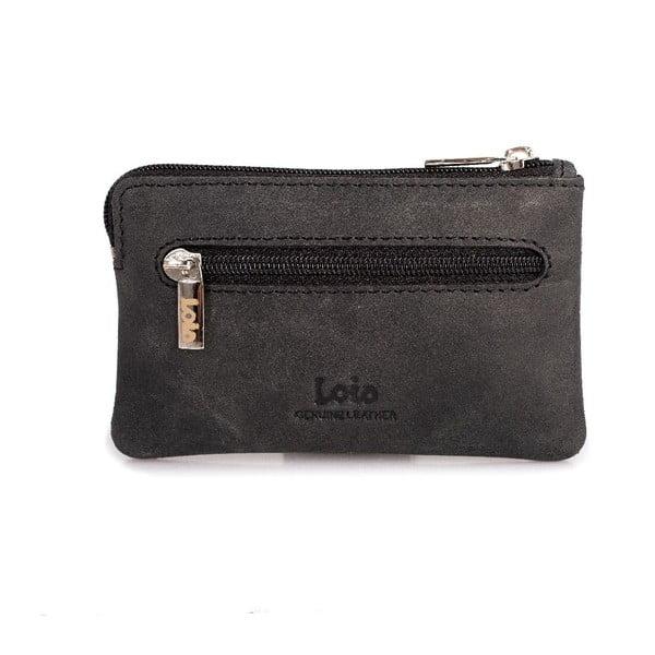 Kožená peněženka na mince Lois Brand, 11x6,5 cm