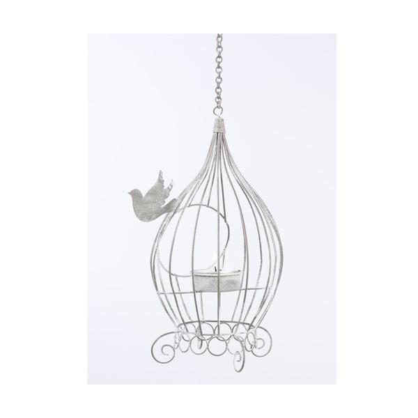Závěsný stojan na čajovou svíčku Bird
