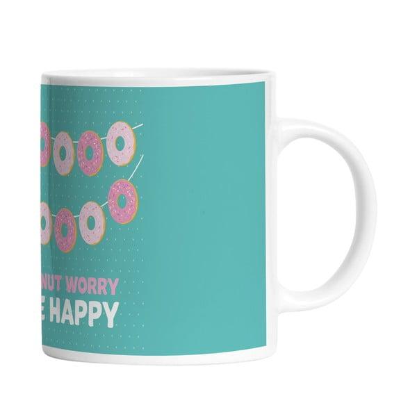 Keramický hrnek Donut Worry, 330 ml