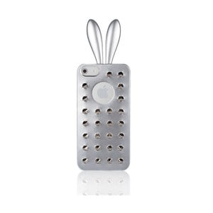 Rabito obal na iPhone 5 Stud Case, stříbrný
