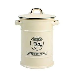 Doză ceramică pentru ceai T&G Woodware Pride of Place, crem